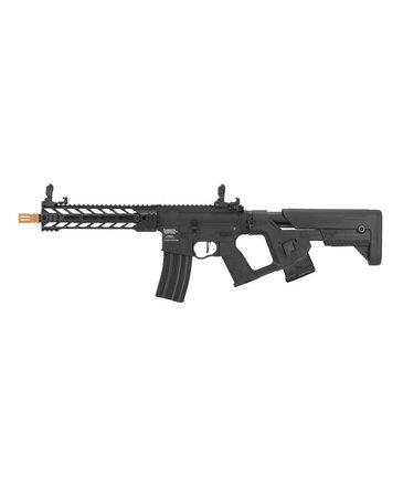 """Lancer Tactical Lancer Tactical GEN2 M4 Enforcer Proline 10"""" Battle Hawk High FPS Metal Rifle with Alpha Stock Black"""