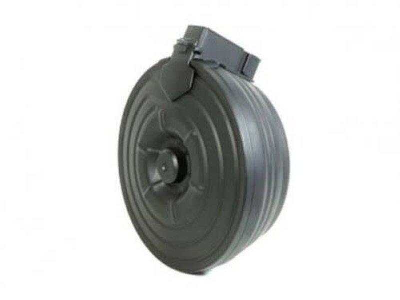 Cyma CYMA AK motorized steel drum magazine, 2500 rd