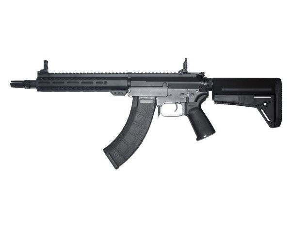 "Cyma CYMA Platinum MK47 QBS Airsoft AEG Rifle 10"" M-LOK with Waffle Magazine"