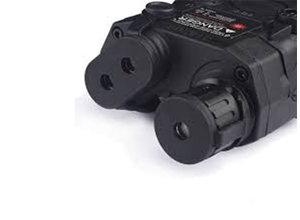 Airsoft Extreme LA-PEQ15 LED light / Green Laser Aiming Device Black