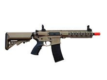 "Tippmann Tippmann M4 Commando CQB 10.5"" Keymod AEG Desert GUN ONLY"