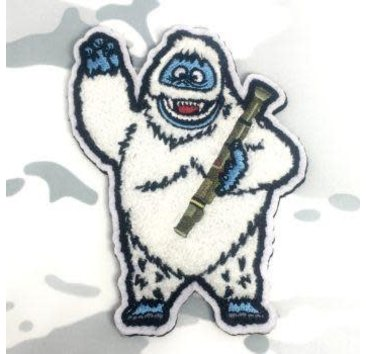 Tactical Outfitters Tactical Outfitters Bumble the Abominable Christmas Morale Patch