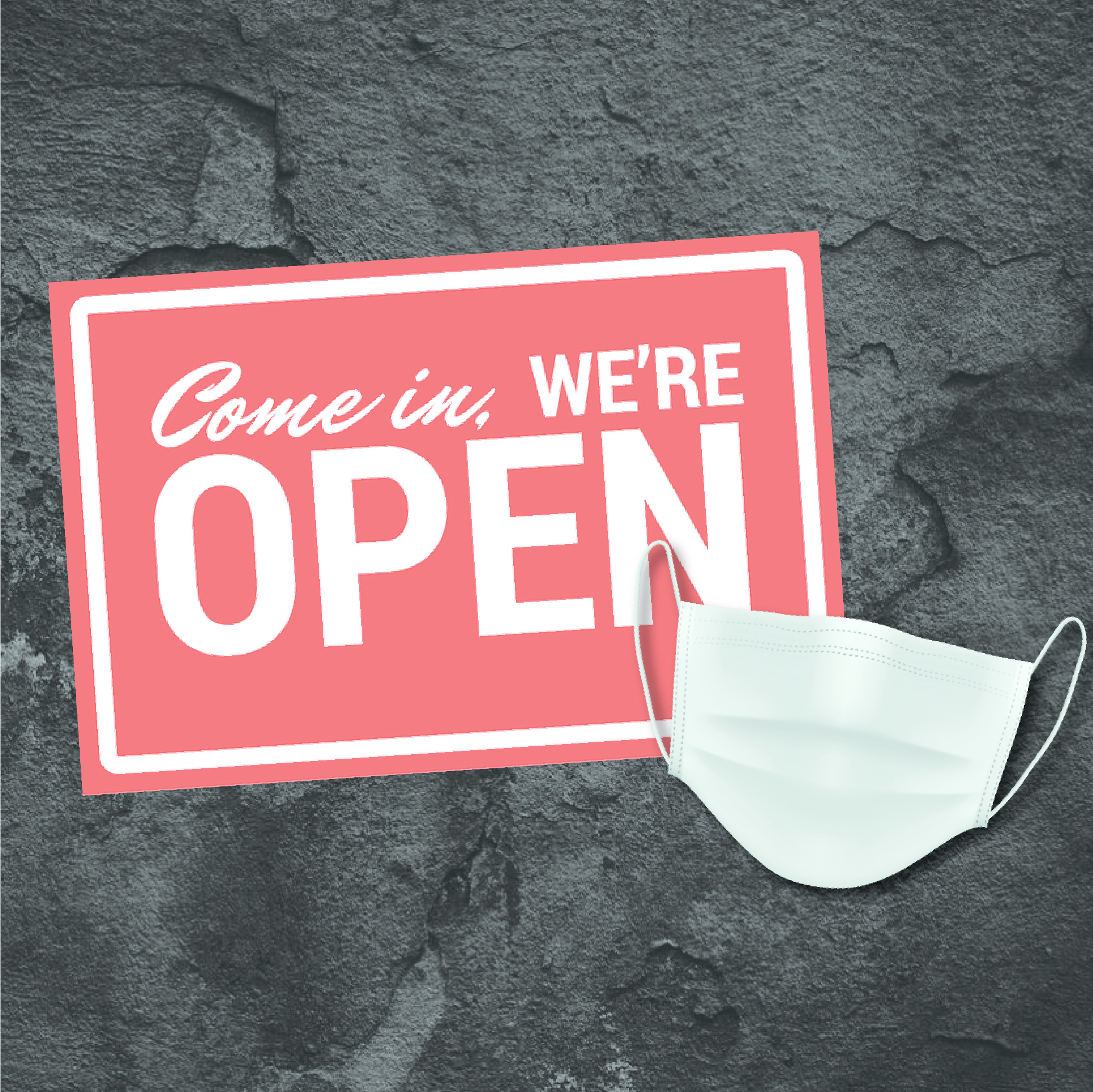 We Are OPEN for Walk-Ins!