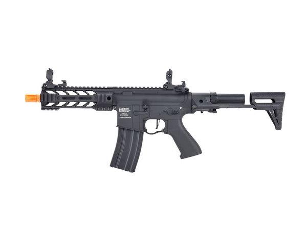 """Lancer Tactical Lancer Tactical GEN2 M4 Enforcer Proline 7"""" Battle Hawk PDW Low FPS Metal Rifle Black"""