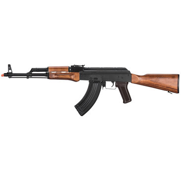 LCT Airsoft LCT Airsoft AK47 LCKM AR AEG with Real Wood Furniture