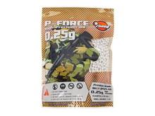 Prima USA P-Force 0.25g Super Premium BBs 1kg / 4,000ct White