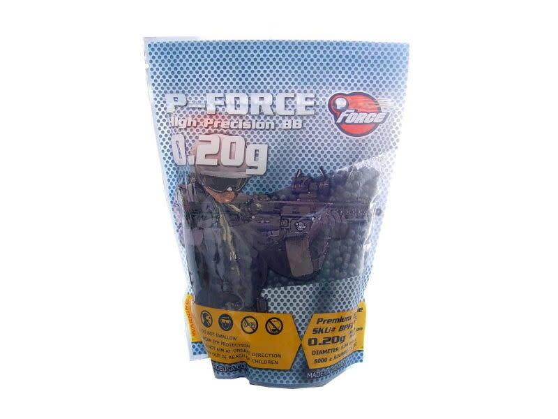 Prima USA P-Force 0.20g Super Premium BBs 1kg / 5,000 ct Black