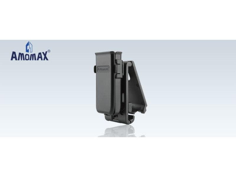 Amomax Amomax Universal Single Magazine Pouch Black