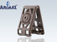 Amomax Amomax Belt Clip for Holsters and Magazine Pouches Flat Dark Earth