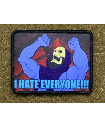 Tactical Outfitters Tactical Outfitters I Hate Everyone! - Skeletor - Morale Patch
