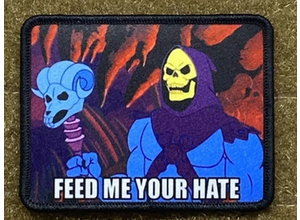 Tactical Outfitters Tactical Outfitters Feed Me Your Hate - Skeletor - Morale Patch