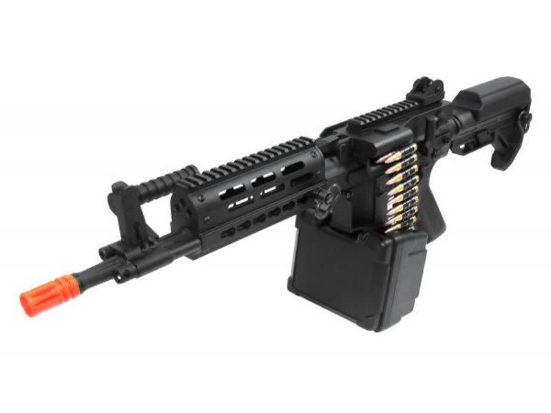 Golden Eagle Golden Eagle LMG full metal electric rifle  with motorized box magazine