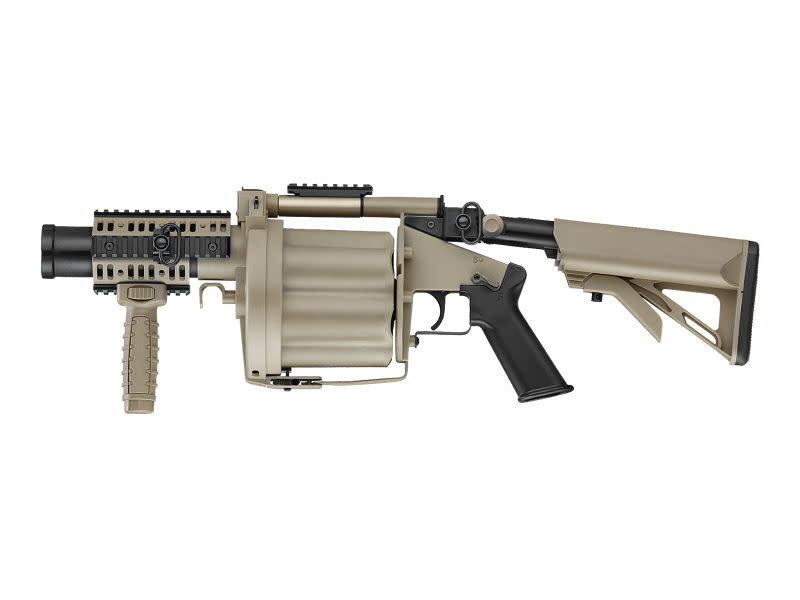ICS ICS MILKOR Multiple Grenade Launcher Desert