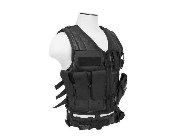 NcStar NcStar Adult Crossdraw Tactical Vest MED - 2XL