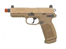 VFC FN Herstal FNX-45 Tactical Gas Blowback Pistol by Cybergun VFC Dark Earth