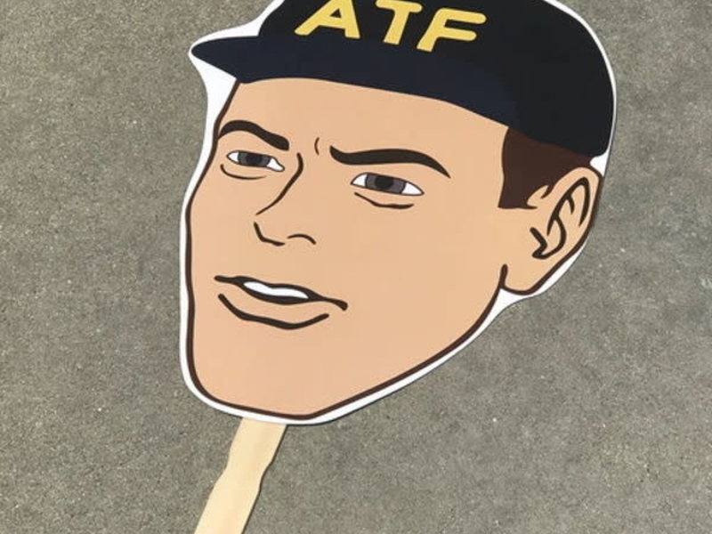 Tactical Outfitters Tactical Outfitters ATF Big Head Cutout