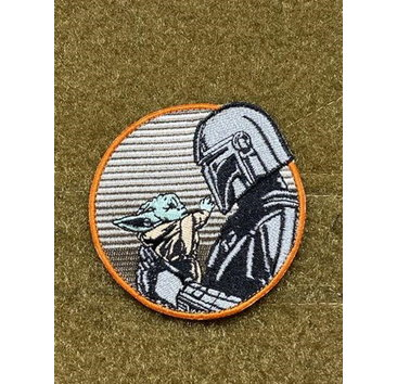 Tactical Outfitters Tactical Outfitters Mando and Child Morale Patch