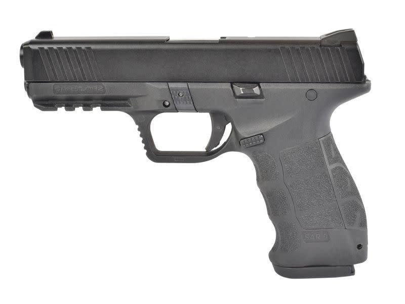 ASG ASG SAR 9 SARSILMAZ Licensed Gas Blowback Pistol (GBB) by ICS Black