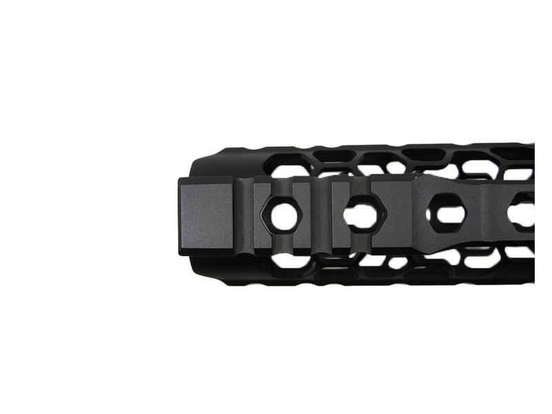 "Castellan Odin KM 9.5"" rail handguard, black"
