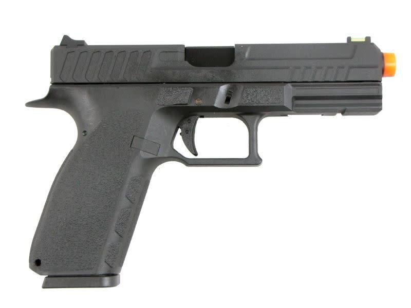 KJ Works KJW KP-13 Poly Frame Hi Capa GBB Pistol Black
