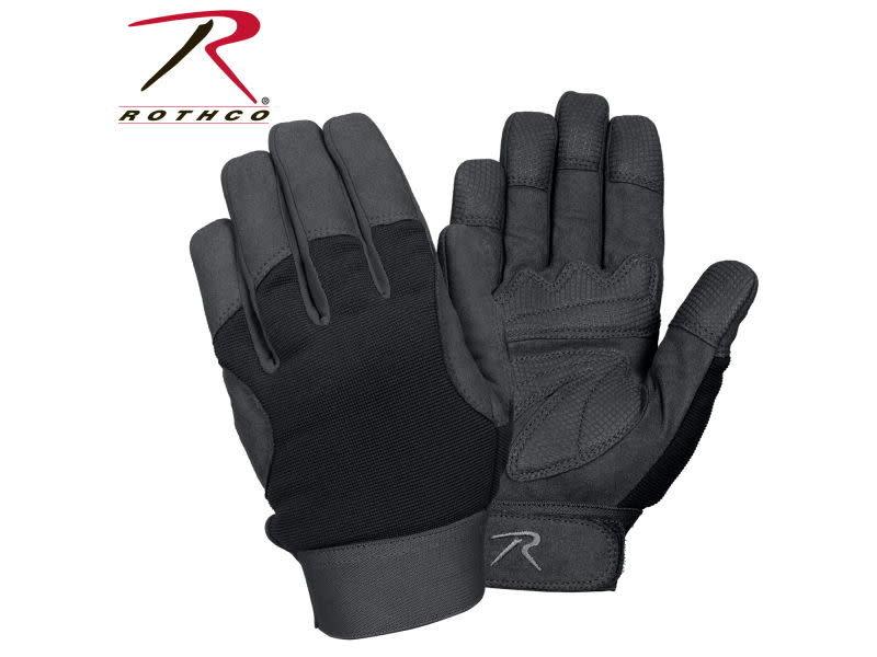 Rothco Rothco Military Mechanics Gloves Black