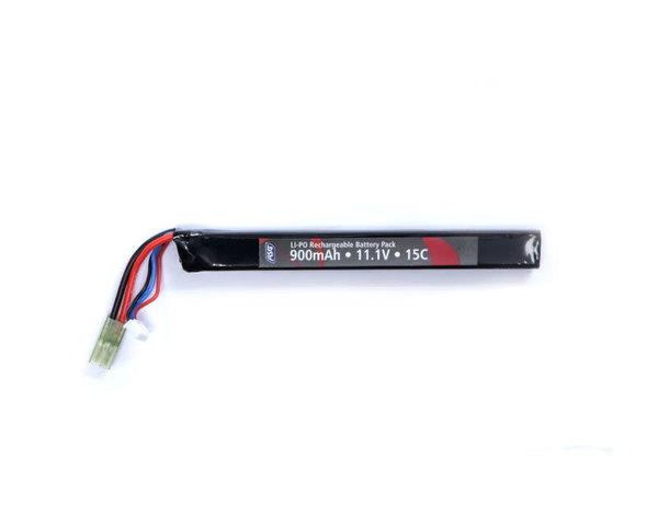 ASG ASG 11.1v 900mAh 20C Stick LiPo Battery Tamiya