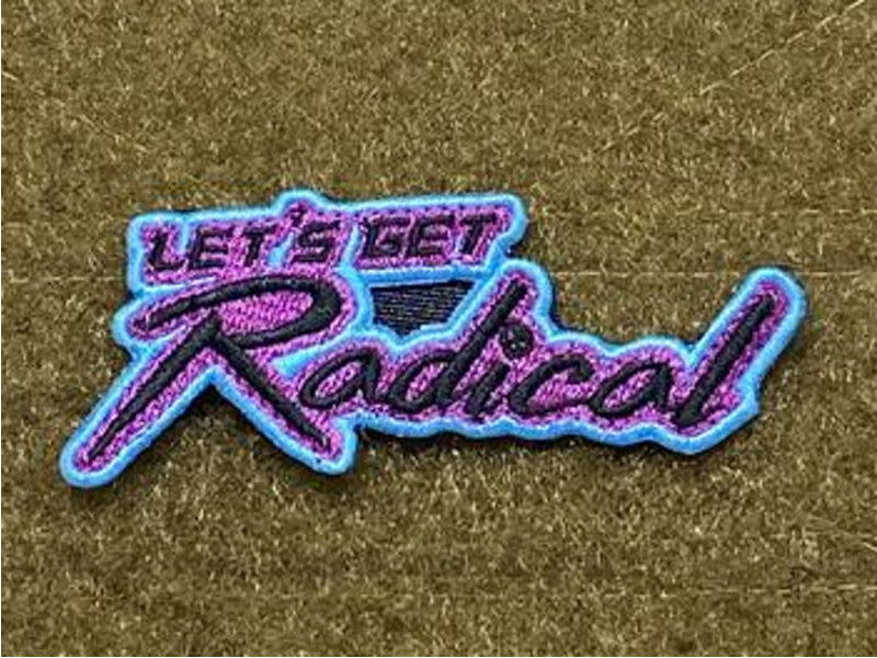 Tactical Outfitters Tactical Outfitters Let's Get Radical Morale Patch