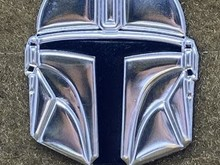 Tactical Outfitters Tactical Outfitters Beskar Mandalorian Helmet Morale Patch