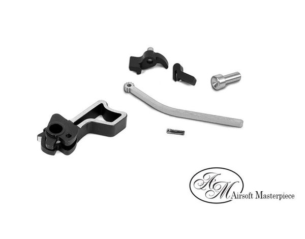 Airsoft Masterpiece Airsoft Masterpiece CNC Steel Hammer & Sear Set for Marui Hi CAPA (Infinity Square)