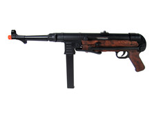 AGM AGM MP40 full metal electric rifle, brown furniture