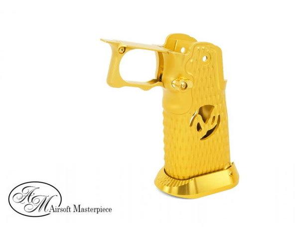 Airsoft Masterpiece Airsoft Masterpiece Aluminum Grip Type 8 for Hi Capa Gold
