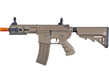 """Tippmann Tippmann Recon Shorty 6"""" MLOK electric rifle, blk/tan"""