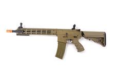 """Tippmann Tippmann  Recon Carbine 14.5"""" MLOK electric rifle, blk/tan"""