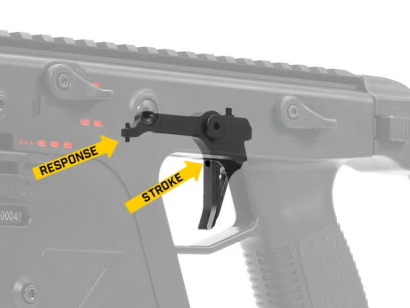 Prometheus Prometheus CNC Aluminum Adjustable Speed Trigger for Krytac Kriss Vector