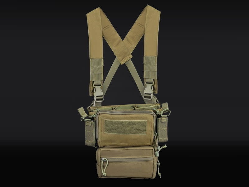 WoSport Wosport Multifunctional Tactical Chest Rig / Sub Abdominal Pouch Set