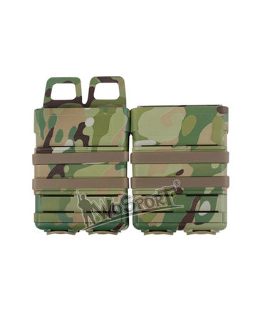 WoSport WoSport Fast Mag Hard Shell Magazine Pouch 2-pack M4 / AR