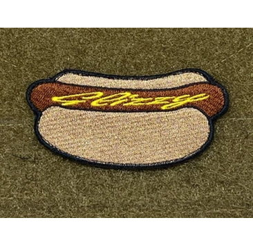 """Tactical Outfitters Tactical Outfitters """"Glizzy"""" Hot Dog Morale Patch"""