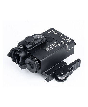Airsoft Extreme Mini DBAL w/blue and IR lasers, aluminum case, black