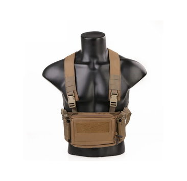 Emerson Emerson Gear D3CR Tactical Micro Chest Rig, Coyote Brown