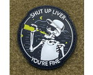 Tactical Outfitters Tactical Outfitters Shut Up Liver PVC Morale Patch