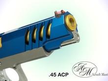 Airsoft Masterpiece Airsoft Masterpiece .45 ACP Aluminum Threaded Fix Outer Barrel Ver.2 for 5.1 Hi Capa