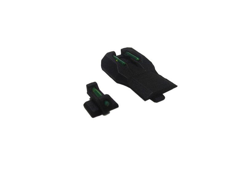 DCI Guns DCI Guns Nylon Low Profile Fiber Sight Set