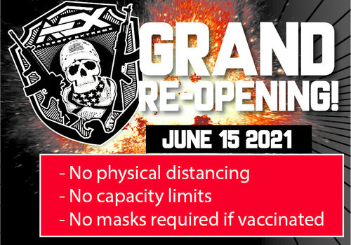 AEX Grand Re-Opening! June 15, 2021
