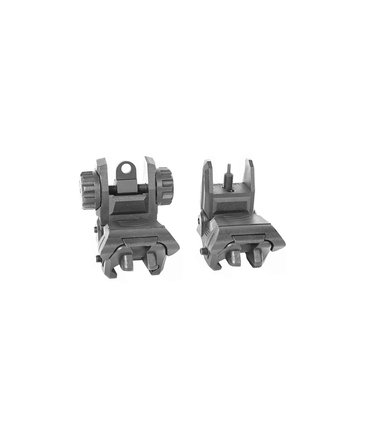 Trinity Force Trinity Force Polymer Low Profile Back-Up Flip Up Sights