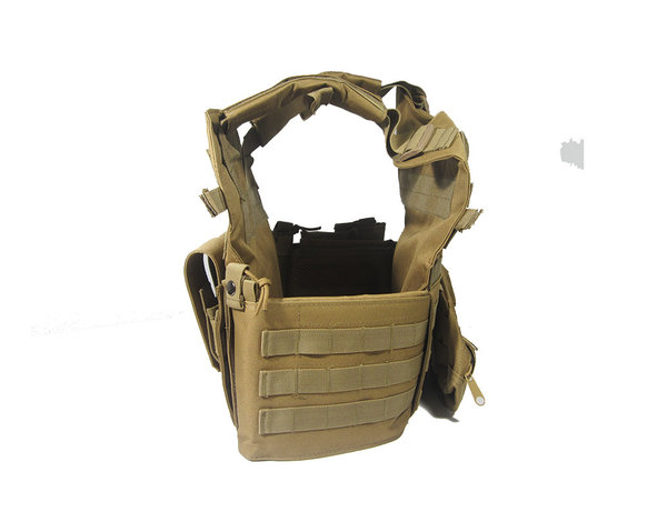 Airsoft Extreme AEX 69X4 Plate Carrier Tactical Vest