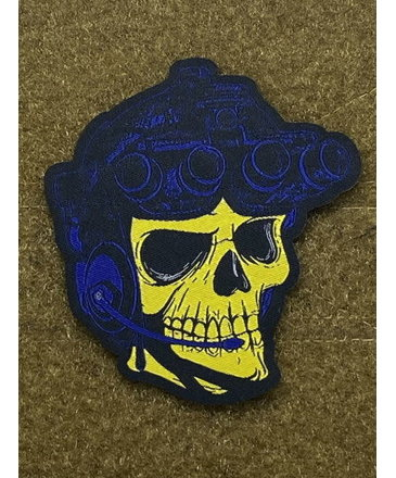 Tactical Outfitters Tactical Outfitters Operator Skeletor Morale Patch Morale Patch