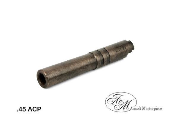 Airsoft Masterpiece Airsoft Masterpiece .45 ACP STEEL Threaded Fix Outer Barrel for 4.3 Hi Capa