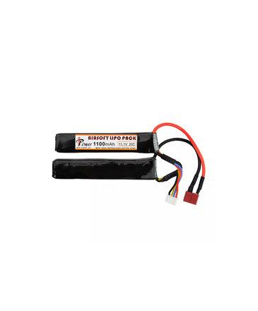 iPower iPower 11.1v 1100mAh 20C 2X Nunchuck LiPo Battery Deans