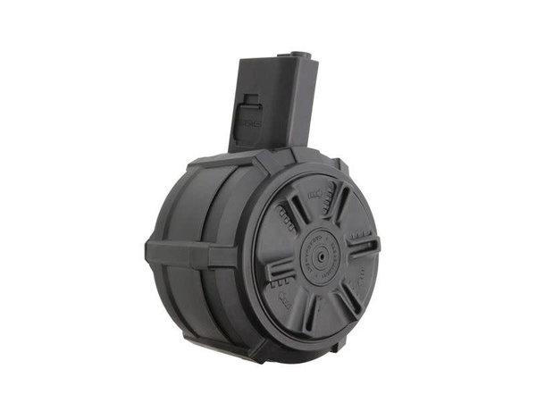 G&G G&G M4 / M16 2,300rd Autowind Drum Magazine w/ LiPo battery