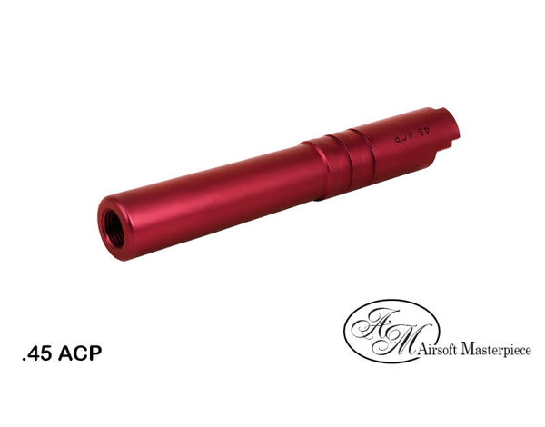 Airsoft Masterpiece Airsoft Masterpiece .45 ACP Aluminum Threaded Fix Outer Barrel for 4.3 Hi Capa